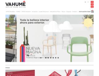 vahume.com screenshot