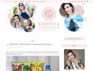 vaidosaefeminina.com screenshot