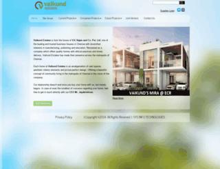 vaikundestates.com screenshot