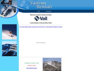 vailrun.com screenshot