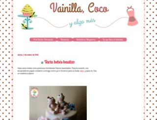 vainillacocoyalgomas.blogspot.com.es screenshot