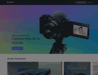 vaio.sony.es screenshot