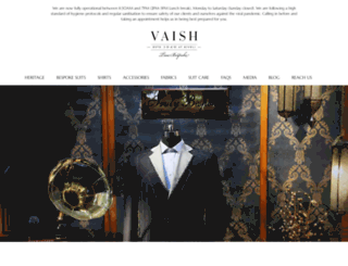 vaish.com screenshot