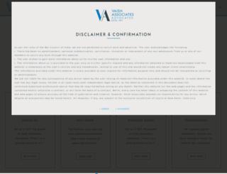 vaishlaw.com screenshot