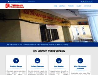 vaishnavitrading.com screenshot