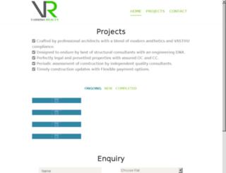 vaishnoprojects.com screenshot