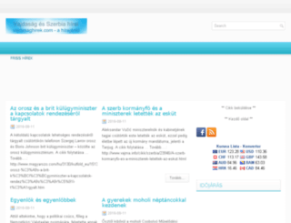 vajdasaghirek.com screenshot