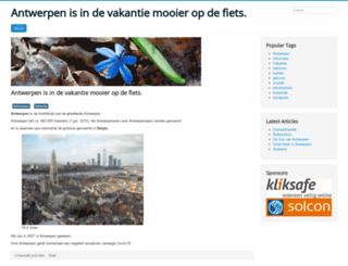 vakantie-antwerpen.nl screenshot