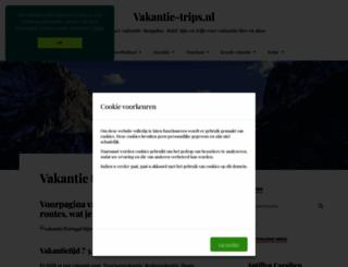 vakantie-trips.nl screenshot
