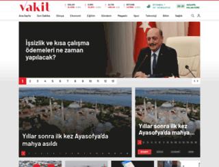 vakit.com.tr screenshot