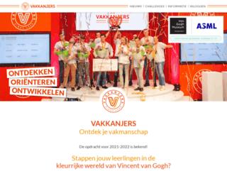 vakkanjers.nl screenshot