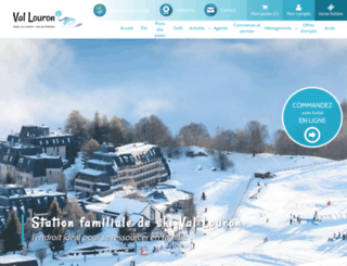 val-louron-ski.com screenshot