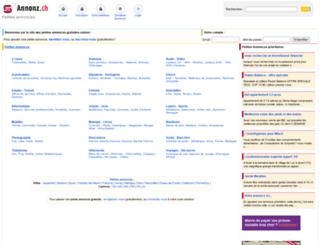 valais.annonz.ch screenshot