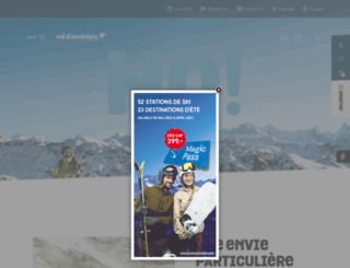 valdanniviers.ch screenshot