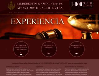 valdebenito.com screenshot