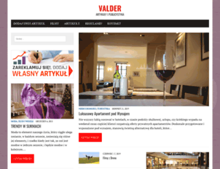 valder.pl screenshot