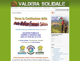 valderasolidale.it screenshot