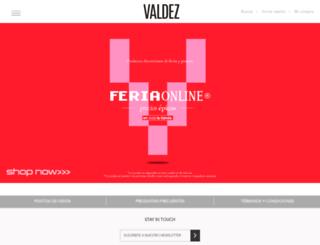 valdez.com.ar screenshot