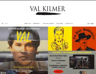 valekilmer.com screenshot