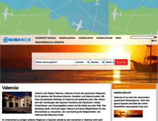 valencia-netz.de screenshot