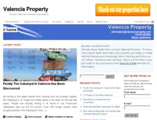 valencia-property.tv screenshot