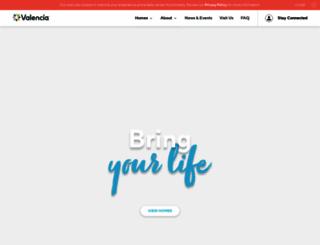 valencia.com screenshot