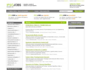 valencia.ipsojobs.com screenshot