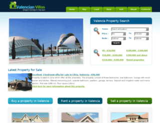 valencian-villas.com screenshot