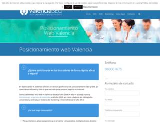 valenciaseo.com screenshot