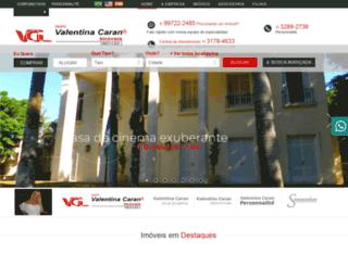 valentinacaran.com.br screenshot