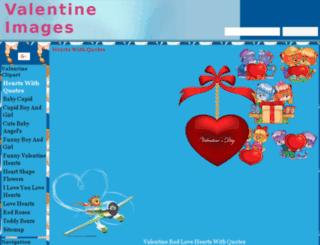 valentine-clipart.clipartonline.net screenshot