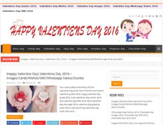 valentinedayquotescards2016.com screenshot