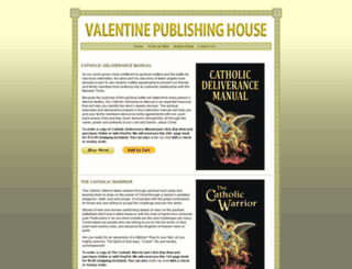 valentinepublishinghouse.com screenshot