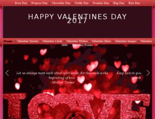 valentinesday.wishyouthesame.com screenshot