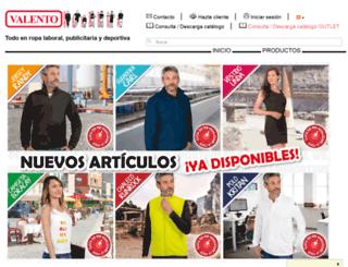 valento.es screenshot