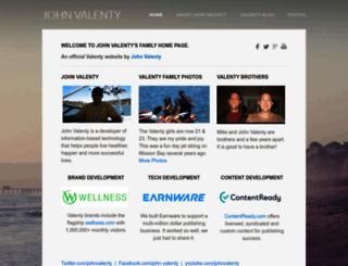 valenty.com screenshot