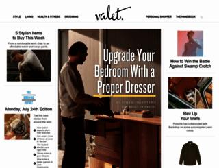 valetmag.com screenshot