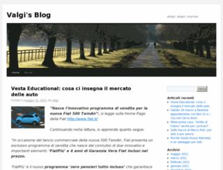 valgi.wordpress.com screenshot