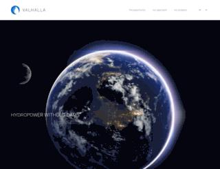 valhalla.cl screenshot