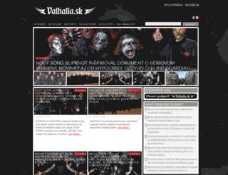 valhalla.sk screenshot