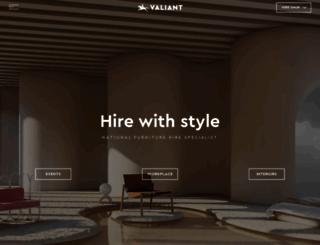 valiant.com.au screenshot