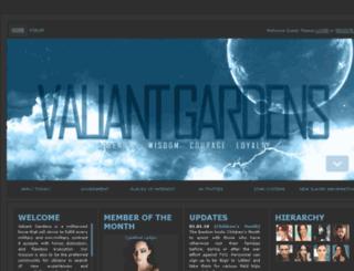 valiantgardens.com screenshot