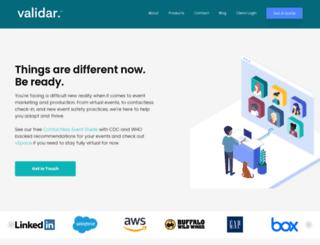 validar.com screenshot