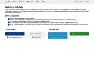 validation.linaro.org screenshot