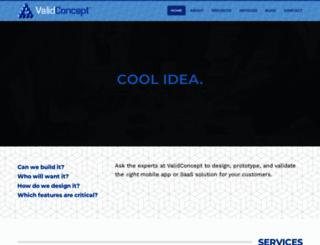 validconcept.com screenshot