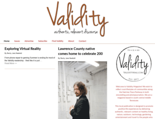 validitymag.com screenshot