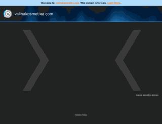 valinakosmetika.com screenshot