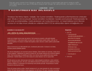 valkokairankennel.blogspot.fi screenshot