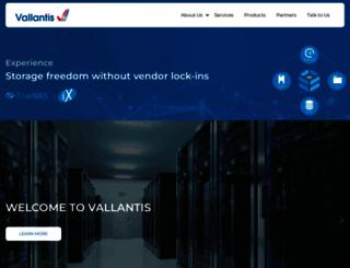 vallantis.com screenshot