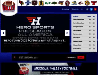 valley-football.org screenshot
